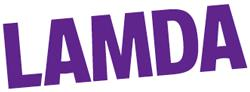 Lamda new purple logo